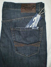 Seven 7 Premium Denim Easy Tapered Leg Mens Blue Jeans Size 32, 36 New