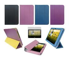 Folio Skin Cover Case and Screen Protector for Acer Iconia A200 A210 Tablet