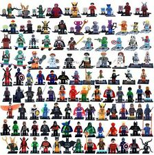 ALL X-Man Dc Comics Marvel Super Heroes Custom Mini Figures Fit With Lego Toys