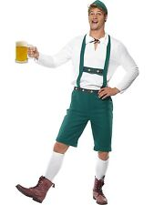 Adult Mens Oktoberfest German Beer Festival Smiffys Fancy Dress Costume