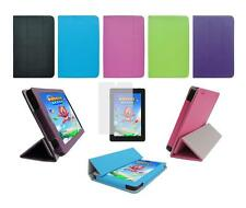 "Folio Skin Cover Case and Screen Protector for Amazon Kindle Fire HD 7"" 2014"