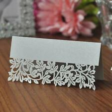 Pack of 50 Place Name Cards Wedding Party Setting Table Decoration Table Cards