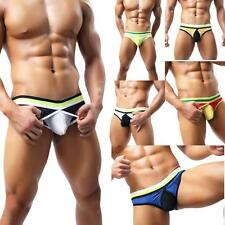 Creative Gift Sexy Mens Breathe Underwear Briefs Bulge Pouch Shorts Underpants