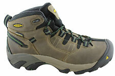 KEEN DETROIT MID MENS STEEL TOE LACE UP WORK BOOTS/OCCUPATIONAL/WATERPROOF