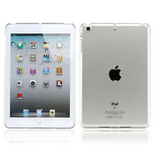 Crystal Clear Hard PC Plastic Back Case Cover Slim Shell For Apple iPad Mini 3 2
