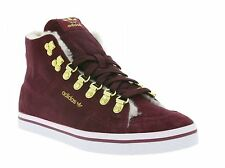 adidas Honey Sneaker trainers Hook Fur Cotton Leisure Shoe Red Hightop G95627
