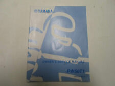 2005 Yamaha PW50T1 Owners Service Manual FACTORY OEM BOOK 05 DEALERSHIP x