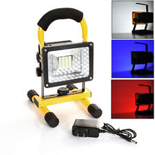 Portable Rechargeable Flash 24 LED Work trouble Light flood Lamp Camping Battery