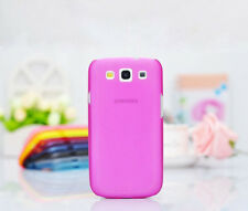 Ultra Thin Matte Clear Transparent Case Cover For Samsung Galaxy S3 i9300 Lot