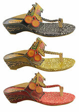 LAURA VITA PARIS TANTINE WOMENS/LADIES LEATHER SANDALS FASHION/THONGS/FLATS/SALE