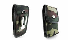 Rugged Camouflage Heavy Duty Case Carry Pouch Cover Belt Clip for Cell Phones