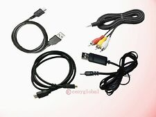 AV/HDMI/USB Data/Charging Cable For Zoom Q3HD Q3 HD Handy Video Recorder APQ-3HD