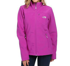 The North Face Womens Apex Bionic Jacket softshell Coat Magic Magenta S-M NEW