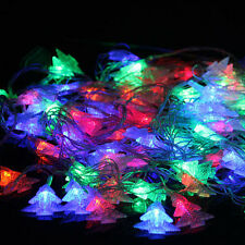 Christmas Tree Wedding Party LED Decor Waterproof Colorful Fairy Lights String