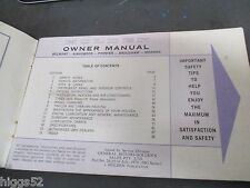 Holden HG SEDAN GTS  owners manual  HG HOLDEN MONARO WAGON UTE panelvan