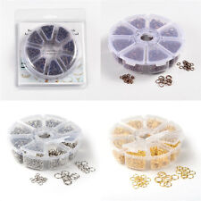 1box DIY Findings 4~10x0.7~1.0mm Nickel Free Iron Jump Rings about 2800pcs/box