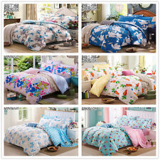 New 100% Cotton Quilt/Duvet/Doona Cover Set King/Queen/Double Size Bed Linen