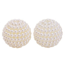 Wholesale Faux Pearls Waxberry Round Loose Beads Charms Fit Bracelets Jewelry J