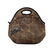 Giraffe Insulated Tote Thermal Lunch Bag/Cool Bag/Cooler/Lunch Box/Picnic Bag