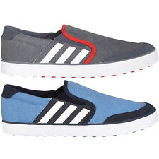 Adidas Golf 2015 Mens Adicross SL Golf Shoes Spikeless Water Resistant Canvas