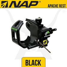 NAP Apache Black Drop Away Rest - New Archery Products - Bow Hunting Archery