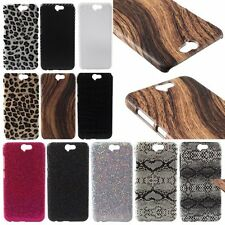 New Luxury Hard PU Mixed Cover Shield Phone Case Skin Back For HTC One A9