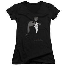 James Dean Icon Movie Actor Exit Juniors V-Neck T-Shirt Tee
