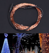 DC 12V 5m LED Decoration Light Strip Copper Wire Rope For Xmas Indoor Outdoor