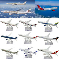 16CM Metal Scale Plane Model Diecast Aircraft Model National Airlines Home Decor