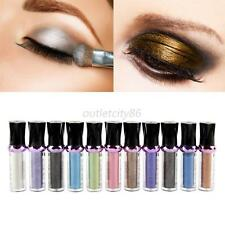 Colorful Shimmer Pigment Loose Powder Eye Shadow Makeup Eyeshadow Roller Hot O13