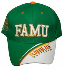 New! Florida A&M University Rattlers Adjustable Velcro Back Hat Embroidered Cap