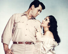 ROCK HUDSON ELIZABETH TAYLOR GIANT STUDIO PORTRAIT PHOTO OR POSTER