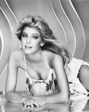 HEATHER LOCKLEAR IN BUSTY B&W PHOTO OR POSTER