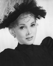 ZSA ZSA GABOR B&W IN HAT PHOTO OR POSTER