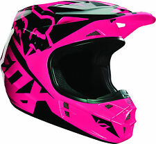 15226-170 Fox V1 Race Pink Youth sized Motorcycle MX ATV Off Road  Helmet