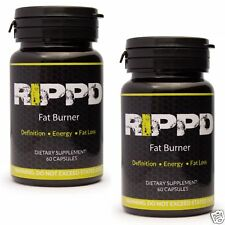 Rippd Fat Burner 60Caps Fat Loss Diet Slimming Pills Weight Loss Pills Lean x 2