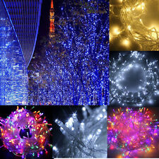 100-500 LED String Fairy Lights Garden Wedding Party Waterproof Christmas HT