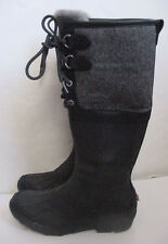 NEW Auth UGG Australia Belcloud Waterproof Snow Boot Black 3550 Womens Sz 5 $295