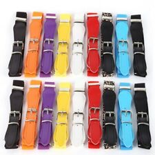 New Candy Color Waist Belt Wide Elastic Stretch Waistband For Children W17