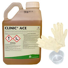 Clinic Ace Weedkiller 5 Litre Strong Glyphosate Professional