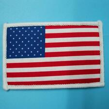 Usa Us American Flag Sew on Patch Badge Embroidered Biker Motor Car Vest Country
