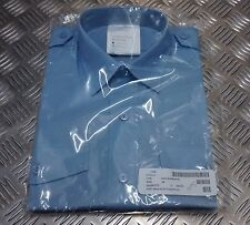 Genuine British Royal Air Force RAF / WRAF Shirt  Blue Long Sleeve SD -  NEW