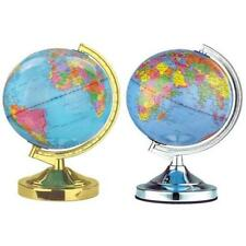 NEW ILLUMINATING WORLD GLOBE TOUCH TABLE LAMP NOVELTY MAP EARTH ATLAS DESK LIGHT