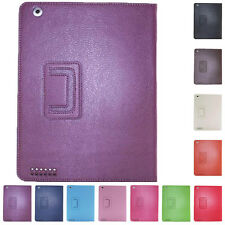 Smart Cover For Apple iPad 2 3 4 Kickstand Folio Pouch Protector Leather On/Off