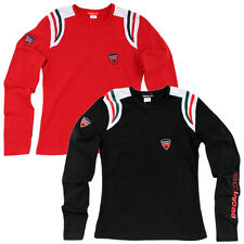 Ducati Corse D.C.08 Shirt Long Sleeve Ladies Long Sleeve Size S-M-L-XL T-Shirt