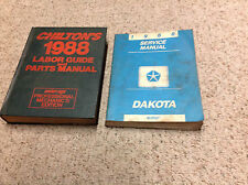 1988 Dodge Dakota TRUCK Service Repair Shop Workshop Manual Set OEM Factory