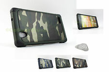 For ZTE Warp Elite N9518 | Impact Rugged Case Protective Hybrid Cover+Prytool