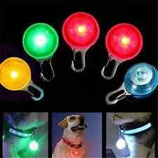 New Fashion Pet Dog Cat Puppy LED Flashing Collar Safety Night Light Pendant FT6