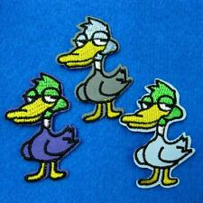 1 Duck Chicken Bird Iron on Sew Patch Cute Applique Badge Embroidered Motif Baby