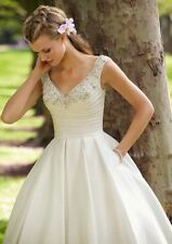 New white/ivory short wedding dress Bridal Gown size 4-6-8-10-12-14-16-18-20-22+
